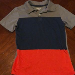Cherokee Color Block Polo